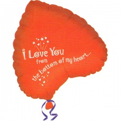 I Love You From The Bottom of My Heart Ballon