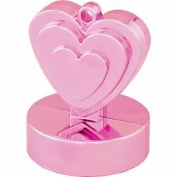 Ballongewichtje roze hartje