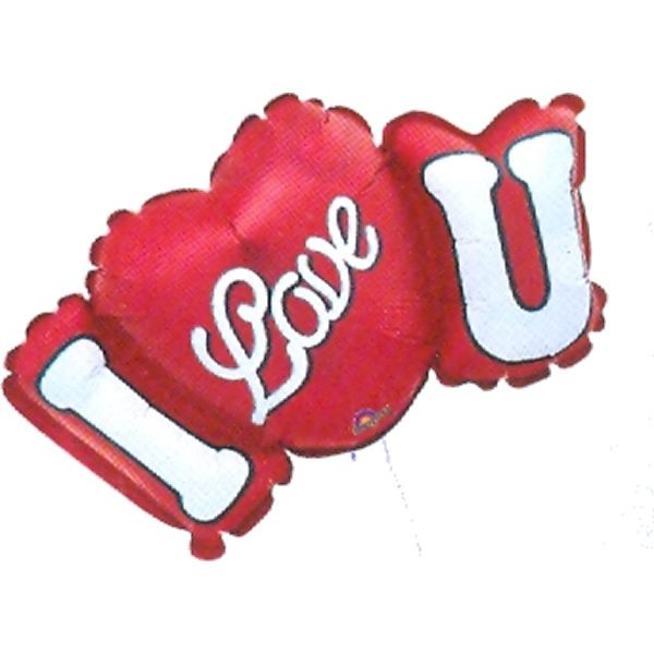 XL Folieballon I Love U