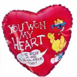 You Won My Heart Ballon