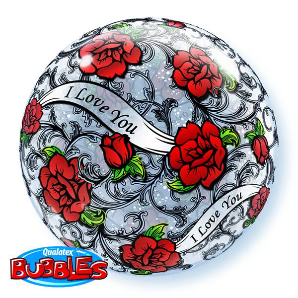 Bubble Ballon I Love You rozen
