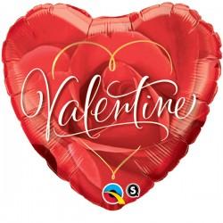 Valentijn Helium Ballon grote roos