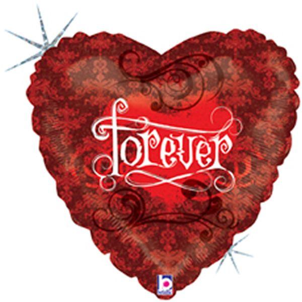 Folieballon Forever