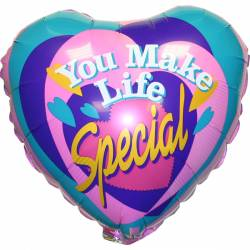 You make life special Ballon