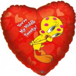 Tweety Liefde Ballon