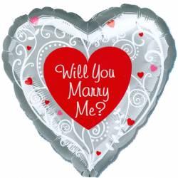 Will you Marry Me Ballon