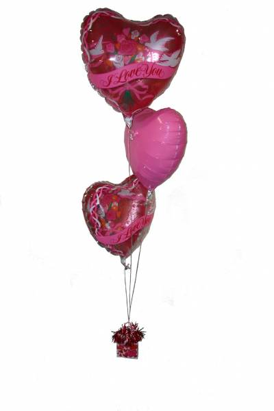 Ballontros Roze I Love You