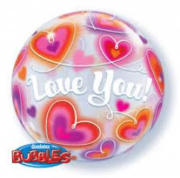 Bubble Ballon Love You